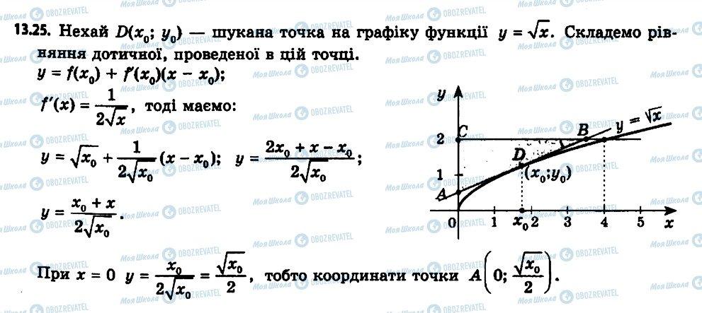 ГДЗ Алгебра 11 класс страница 25