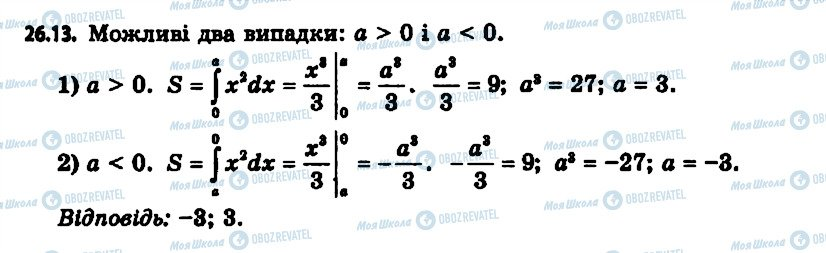 ГДЗ Алгебра 11 клас сторінка 13