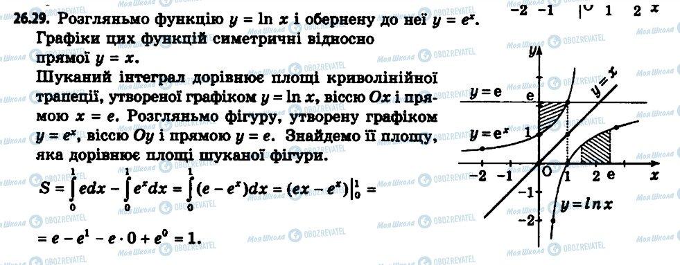 ГДЗ Алгебра 11 клас сторінка 29