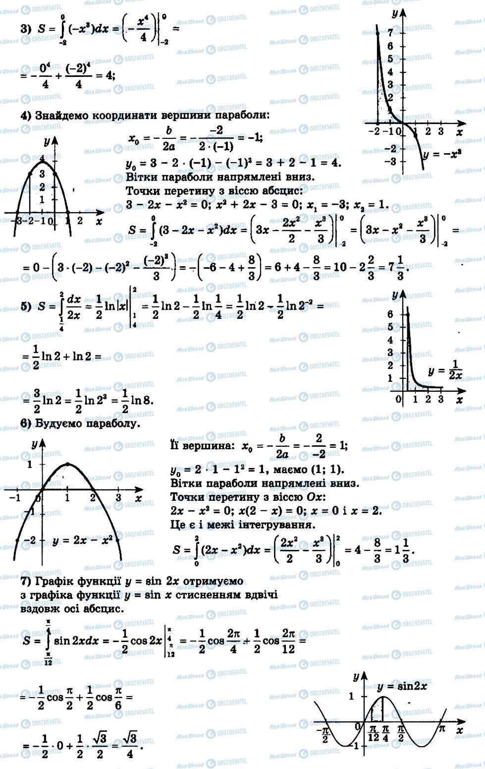 ГДЗ Алгебра 11 клас сторінка 5