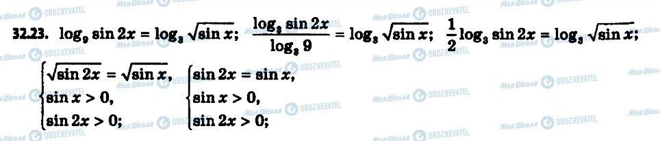 ГДЗ Алгебра 11 клас сторінка 23
