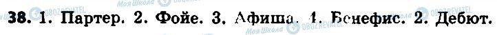 ГДЗ Російська мова 6 клас сторінка 38