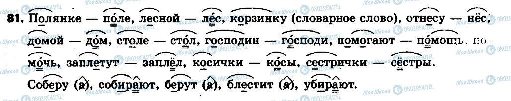 ГДЗ Русский язык 6 класс страница 81