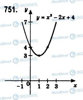 ГДЗ Алгебра 11 клас сторінка 751