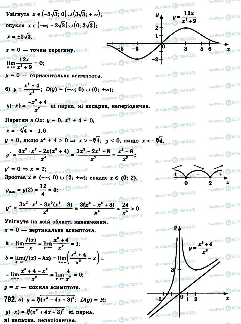 ГДЗ Алгебра 11 клас сторінка 791
