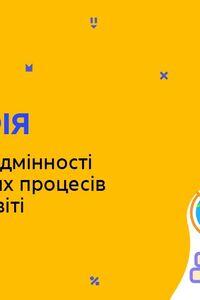 Онлайн урок 8 класс География. Региональные различия демографических процессов в Украине и мире (Нед.7:СР)