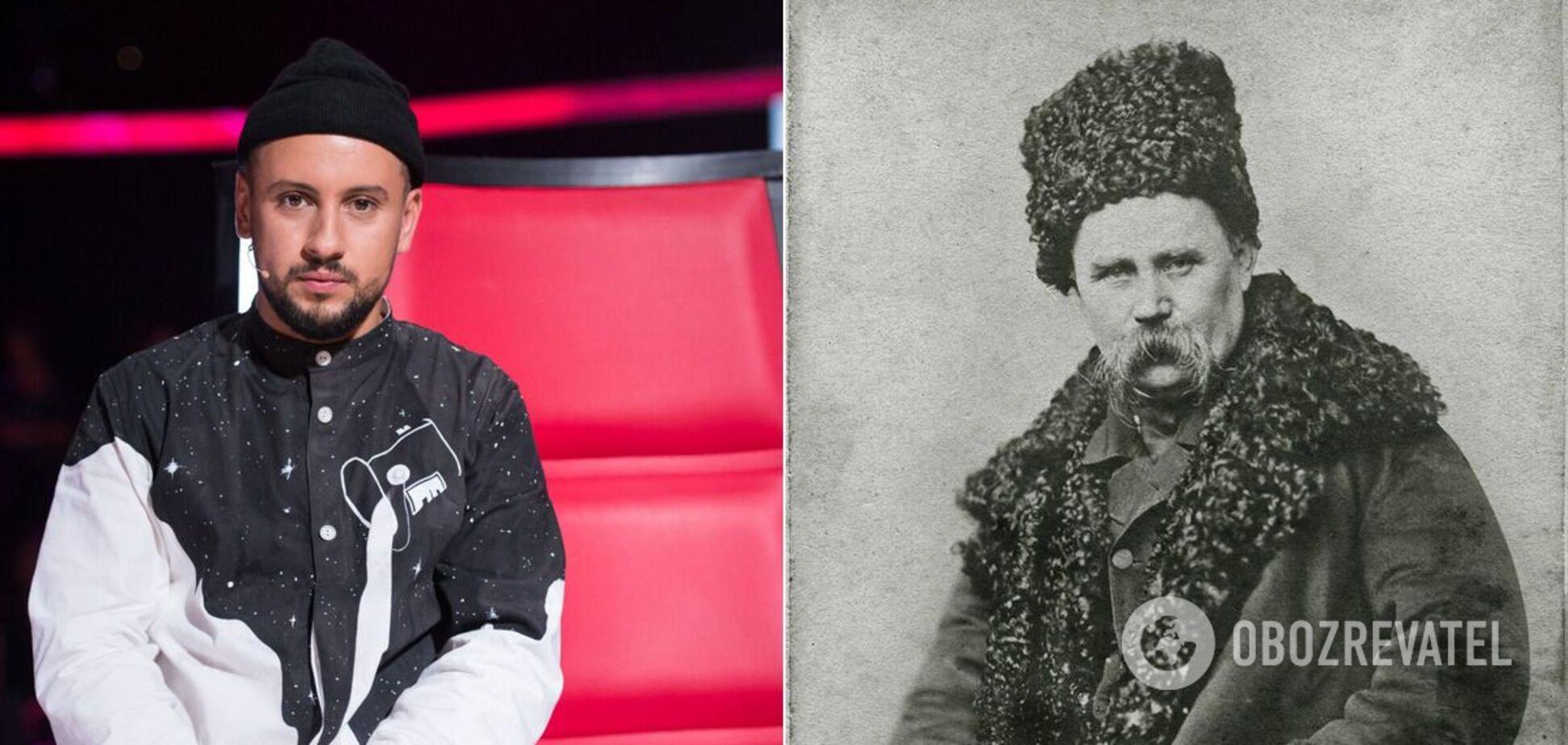 В школьной тетради Монатика поставили в один ряд с Тарасом Шевченко