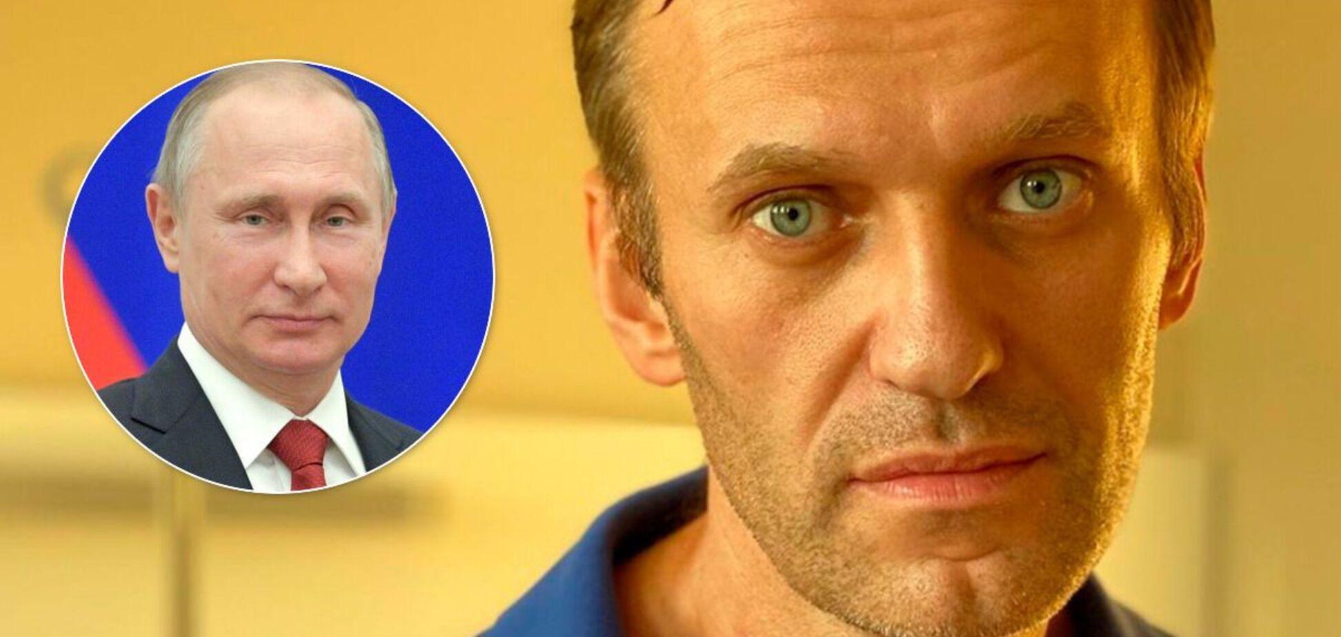 Навальный: за моим отравлением стоит лично Путин
