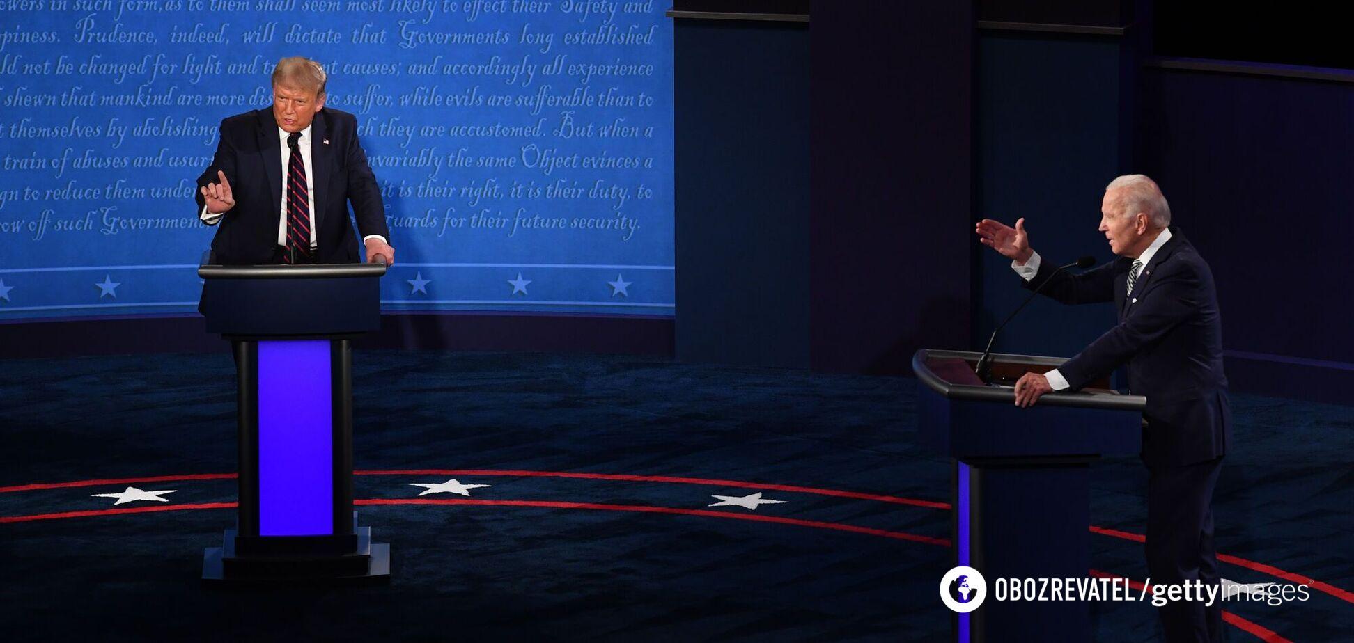 Такого от Байдена на дебатах не ожидали