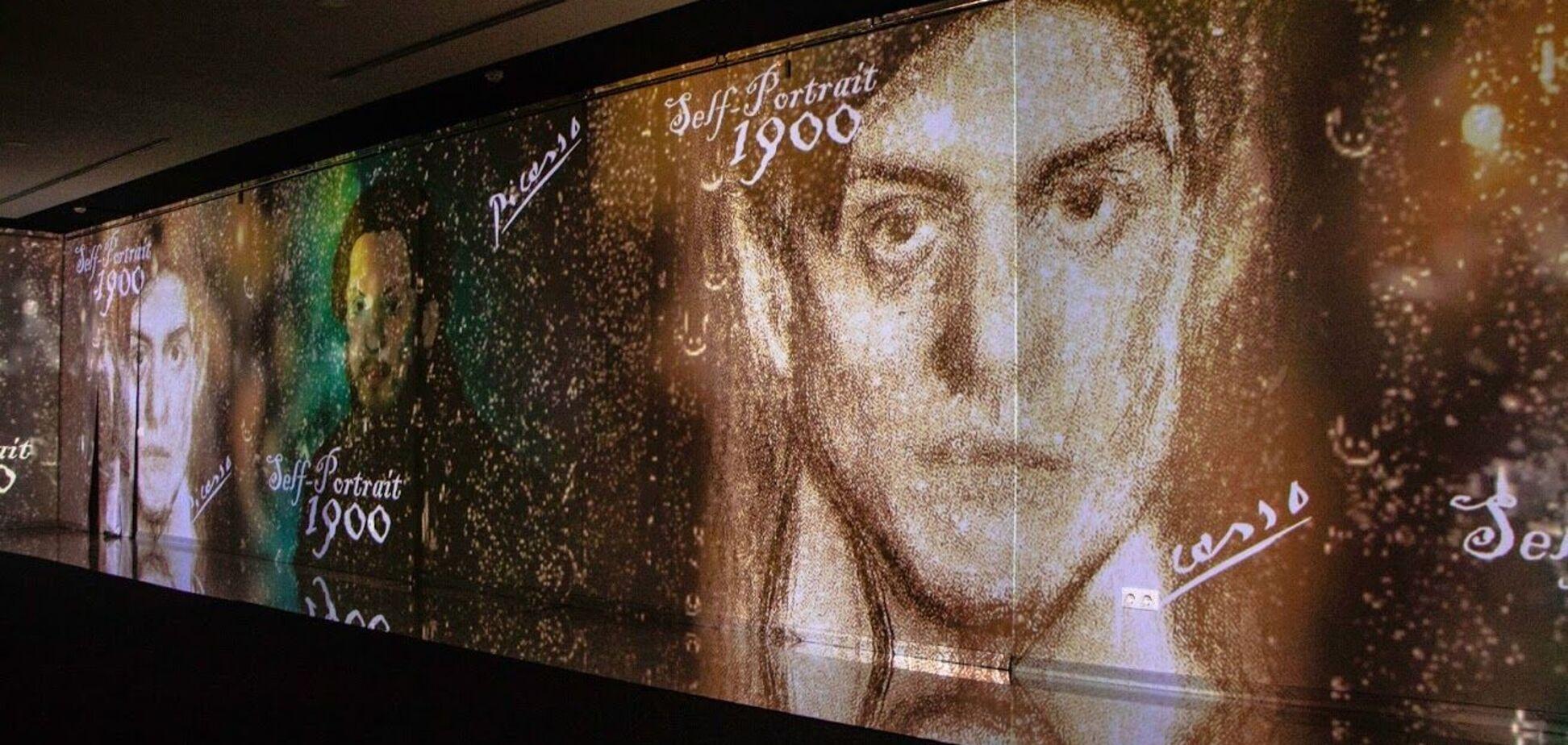 В Днепре открылась первая диджитал-выставка 'Пикассо: периоды гениальности'