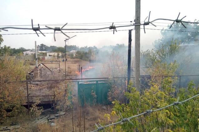 В Станиці Луганській від пожеж масово здетонувала вибухівка