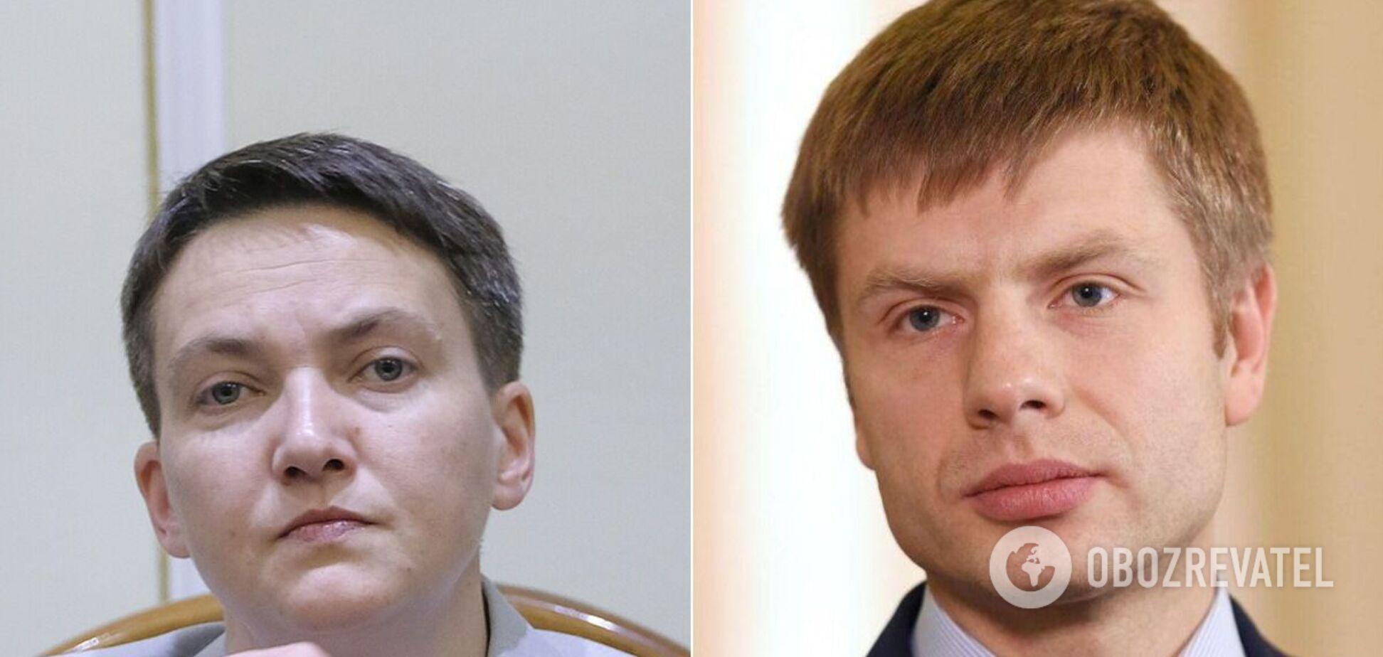Гончаренко назвав Савченко брехухою