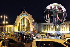 У Києві на вокзалі затримали групу кишенькових злодіїв