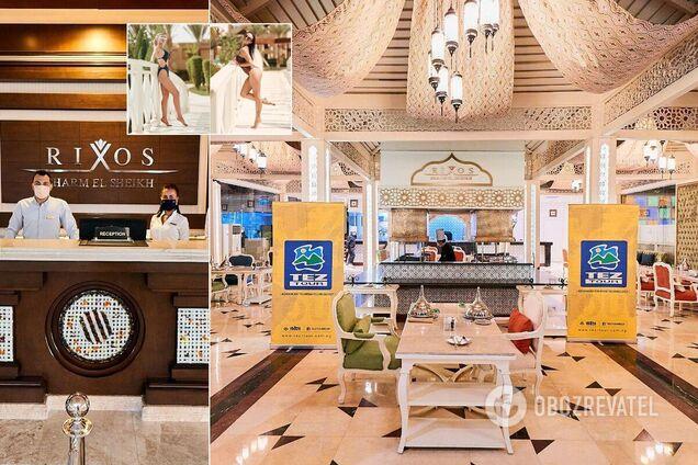 Rixos Sharm El Sheikh 5* принимает звезд: отдых в Египте будет приносить двойное удовольствие