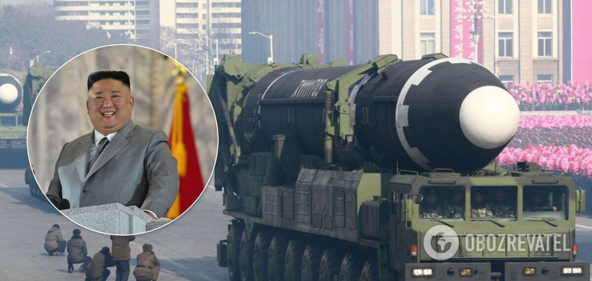 Нова балістична ракета КНДР