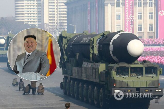 Новая баллистическая ракета КНДР