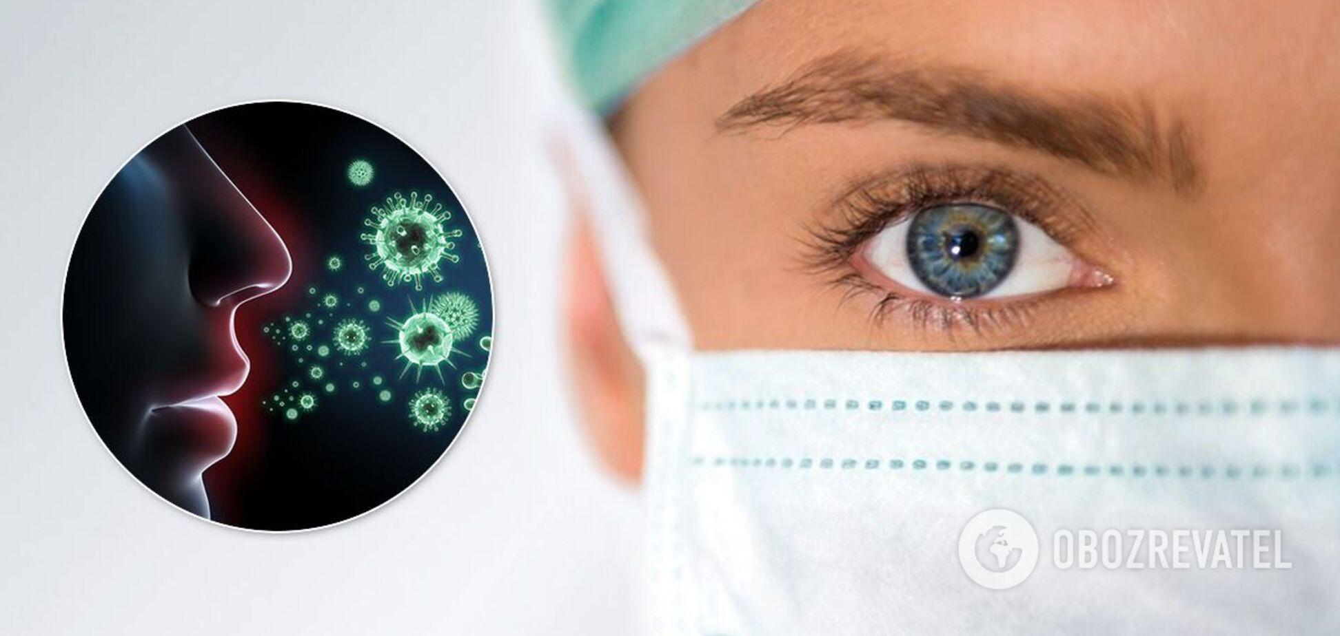 Коронавірус здатний проникати в очі