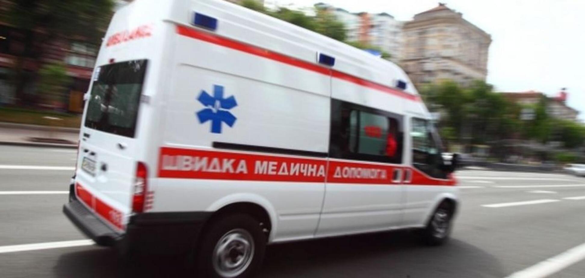 У Києві чоловік підпалив себе