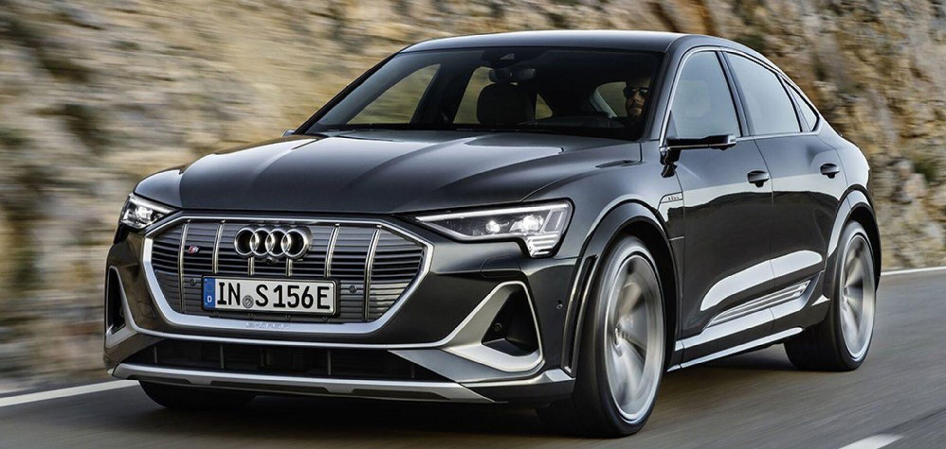 В Украине появился электрический конкурент BMW X6 от Audi