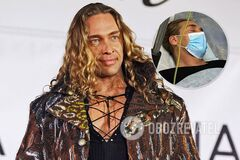 Тарзан оказался в больнице после скандала с изменой
