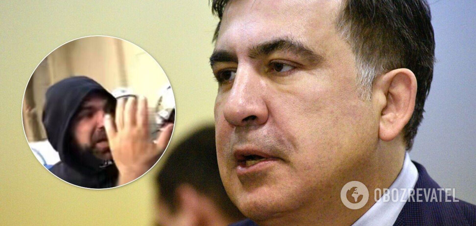 На Саакашвили в Афинах напал неизвестный
