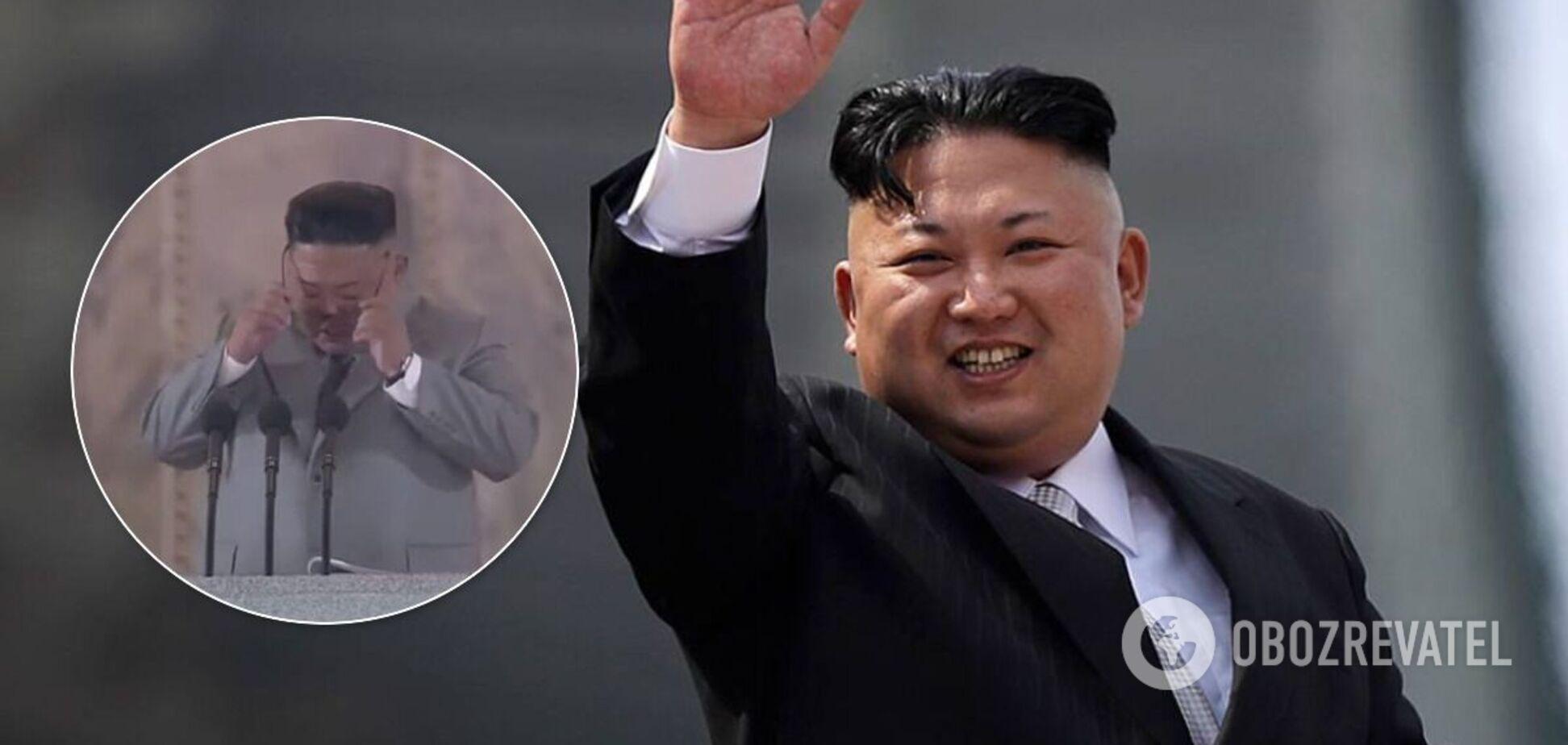 Кім Чен Ин розплакався на військовому параді й перепросив за невдачі