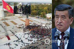 Протесты в Киргизстане