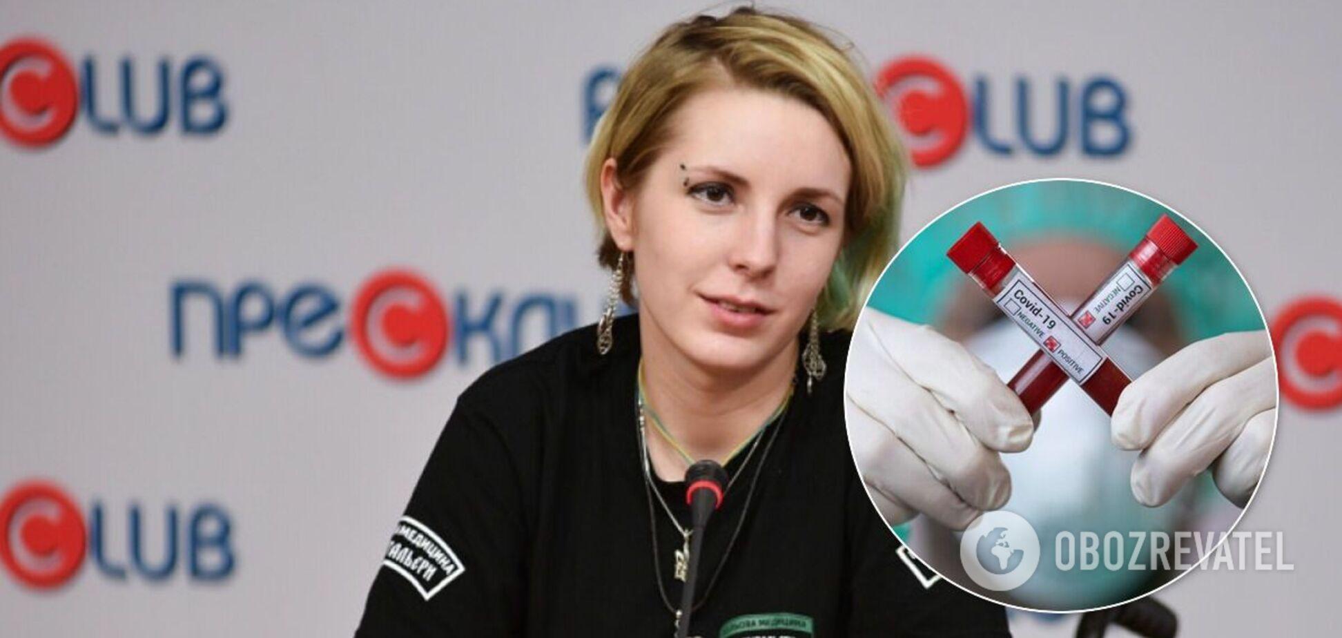 Яна Зінкевич захворіла на коронавірус двічі