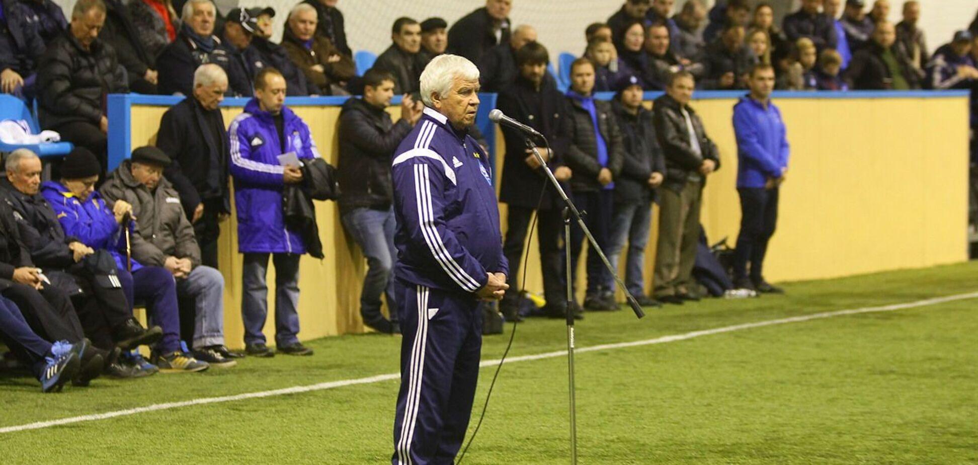 Легенды 'Динамо' открыли поле в Украинке