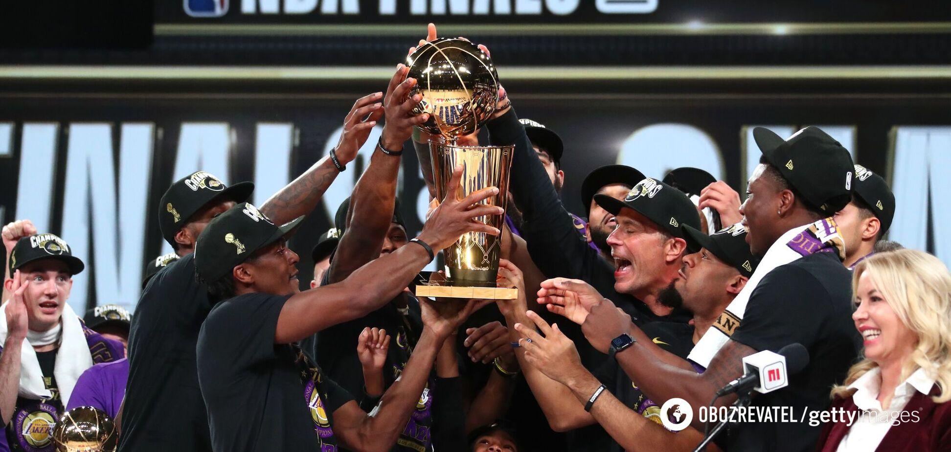 'Лейкерс' стали победителями НБА