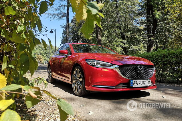 Классика и современность: тестируем Mazda6