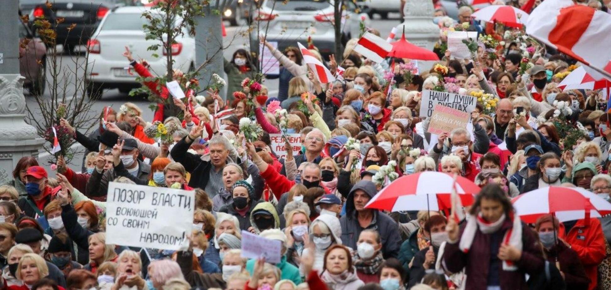 Беларусь акции протеста