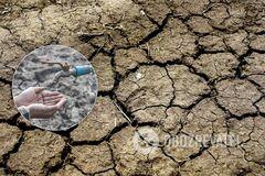Проблема з водою в Криму. Ілюстрація