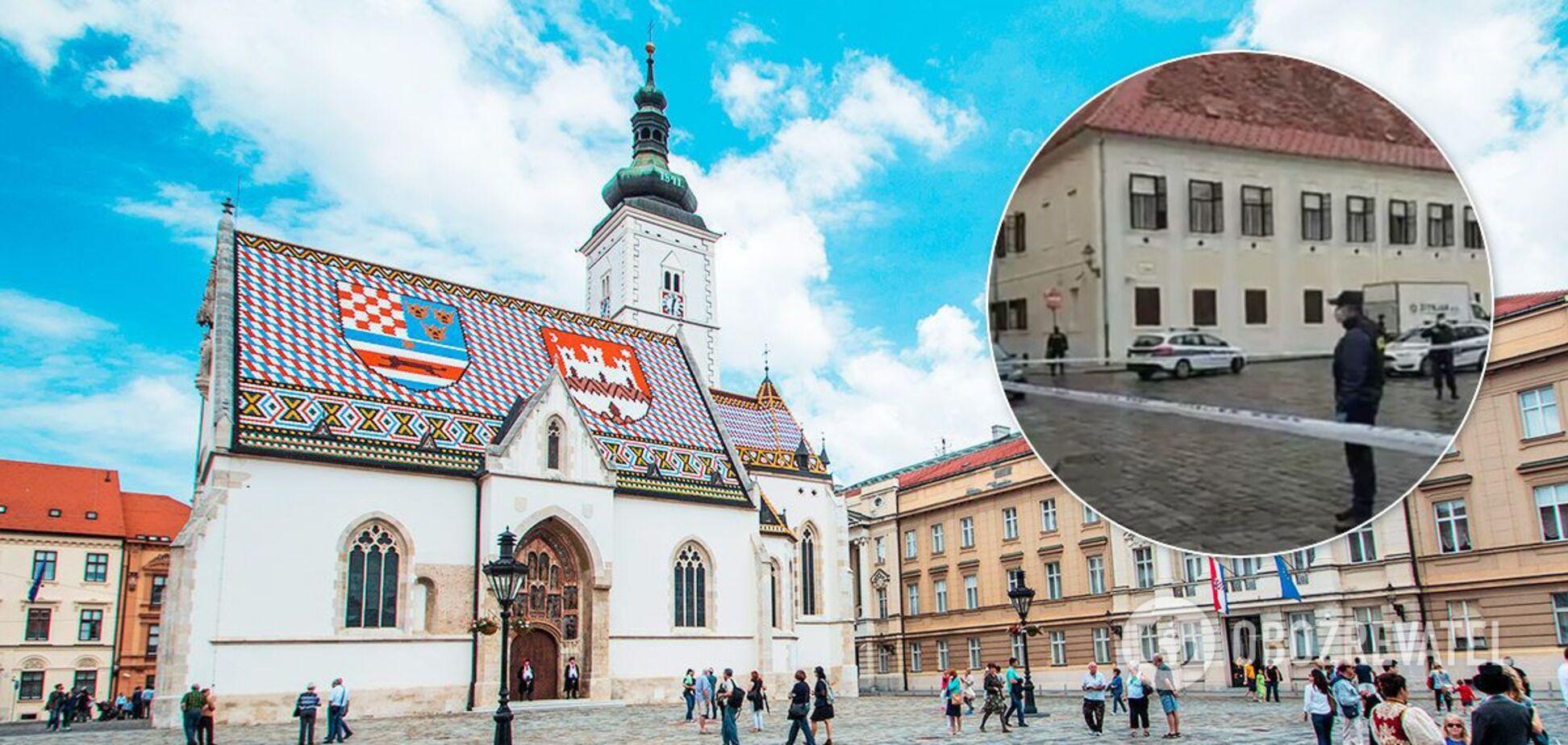 На площі святого Марка в Загребі відкрили стрілянину