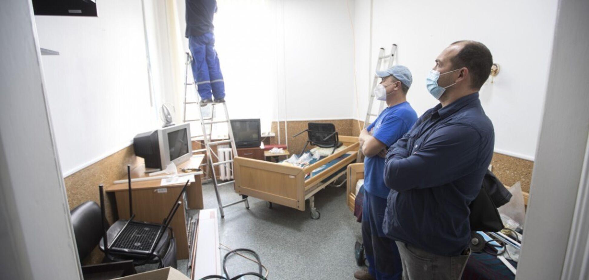 Кличко показал обновленные 'коронавирусные' отделения в Киеве