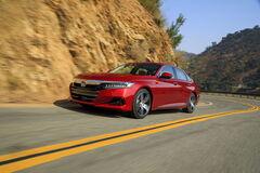 Honda Accord лишилась 'механики' и получила спортивную версию
