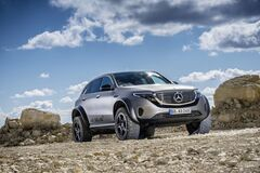 Mercedes-Benz побудував електричний всюдихід для екстремалів