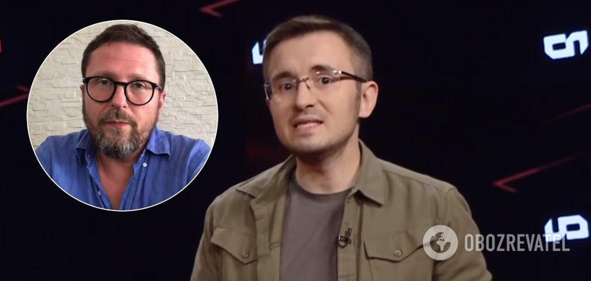 Анатолій Шарій і Денис Бігус