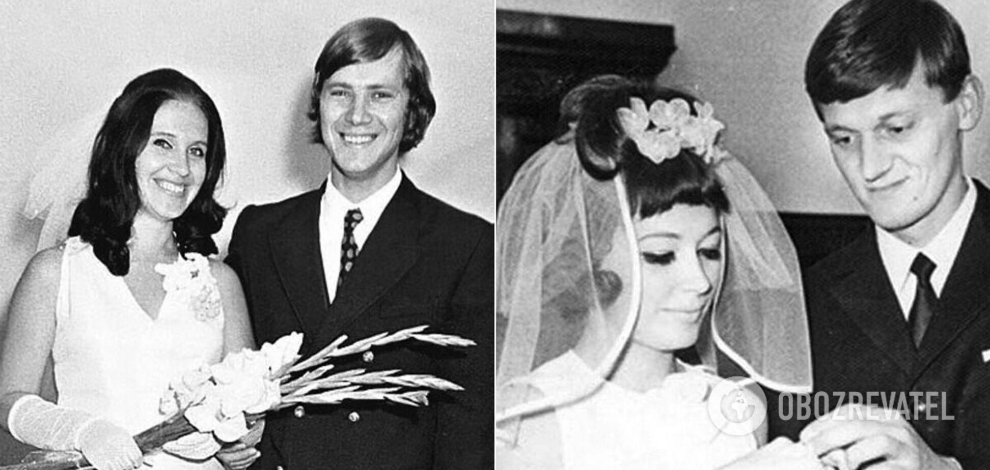 Як виглядали радянські зіркові пари на власних весіллях. Фото