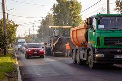 На жилом массиве Игрень в Днепре почти закончили ремонт магистрали. Фото