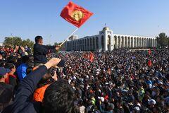 В Бишкеке действует режим чрезвычайного положения