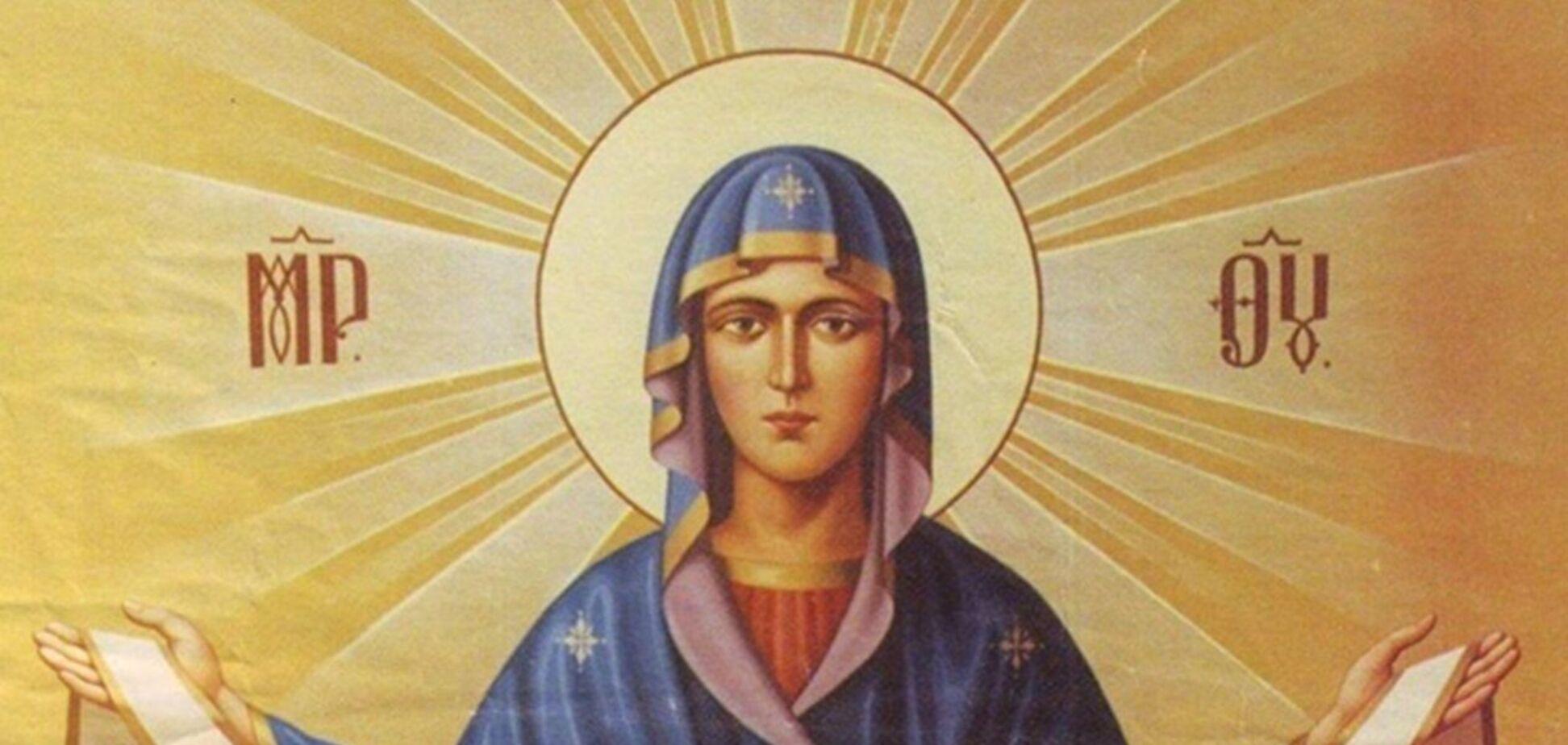 В Покров Пресвятої Богородиці можна займатися важкою працею