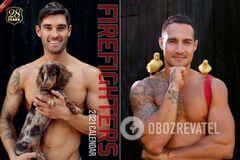 Австралийские пожарные в новых календарях
