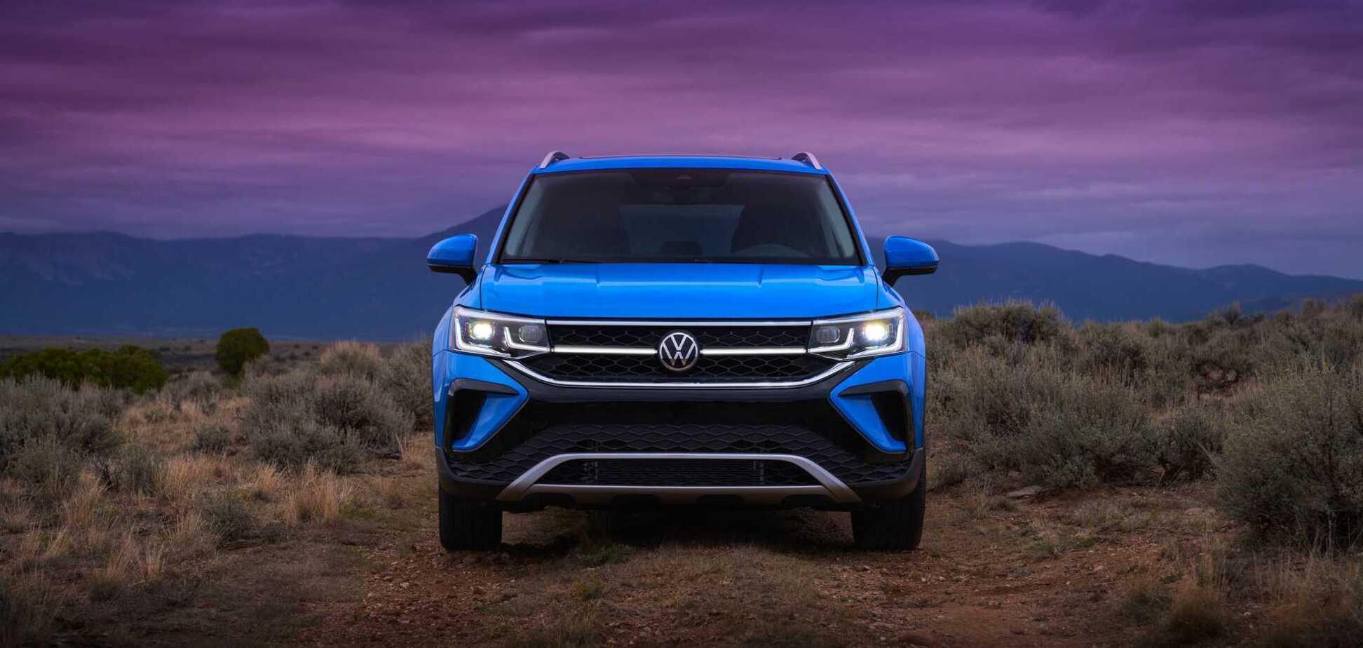 Представлен новый кроссовер Volkswagen Taos с двигателем от Jetta