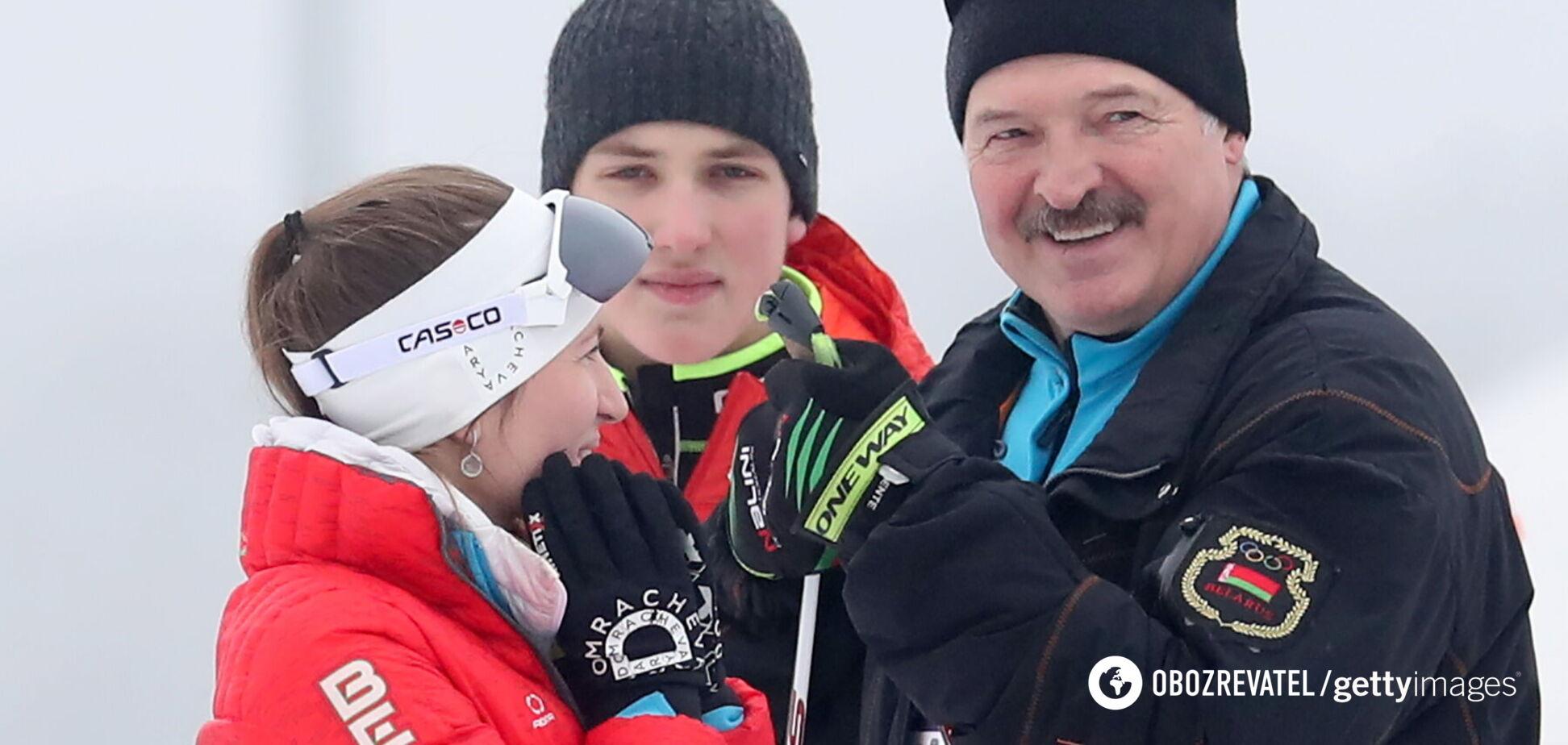 Домрачева и Лукашенко