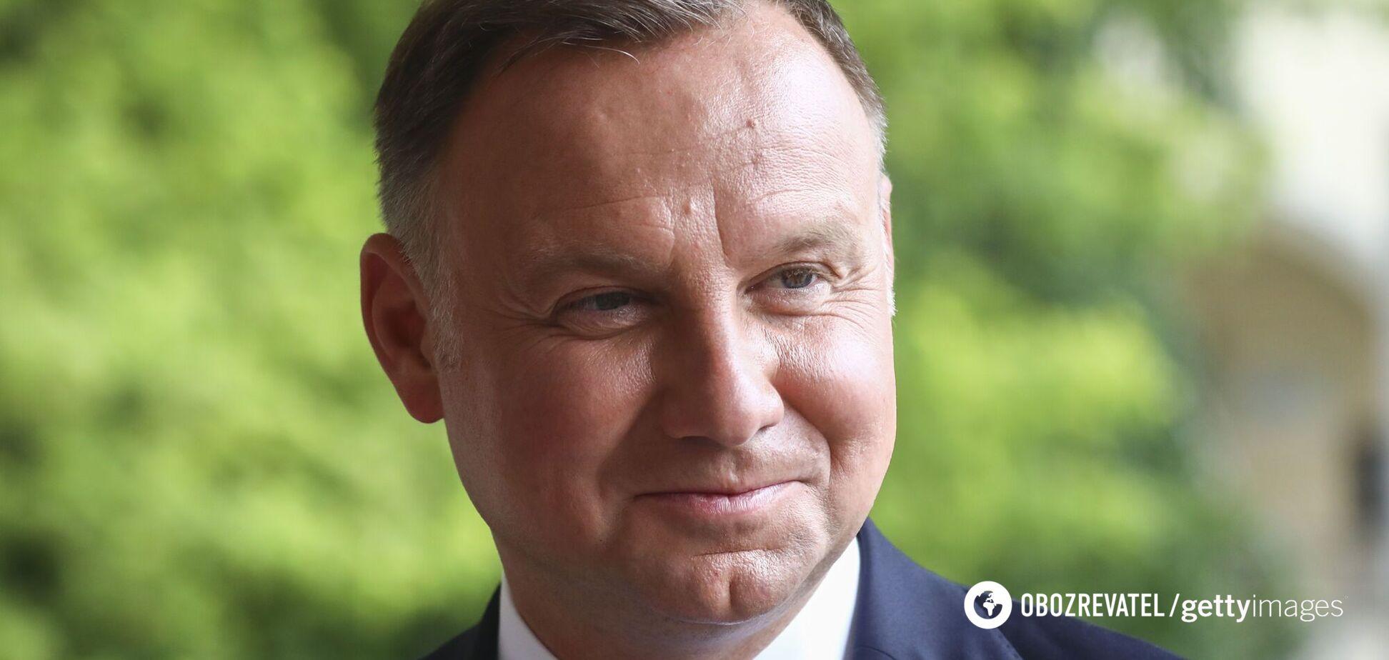 Дуда спрогнозировал, когда закончится война на Донбассе