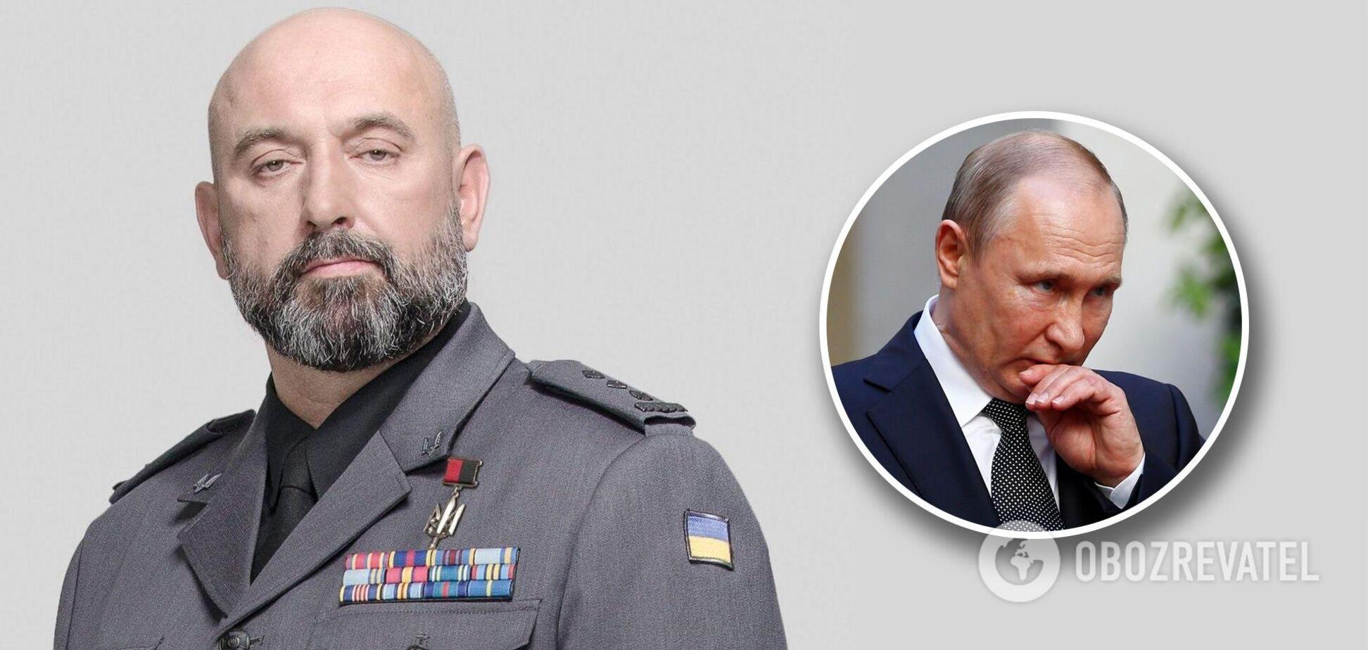 Генерал ЗСУ Кривонос: Путін боїться потоку трун у РФ, тому змушений зважати на українську армію