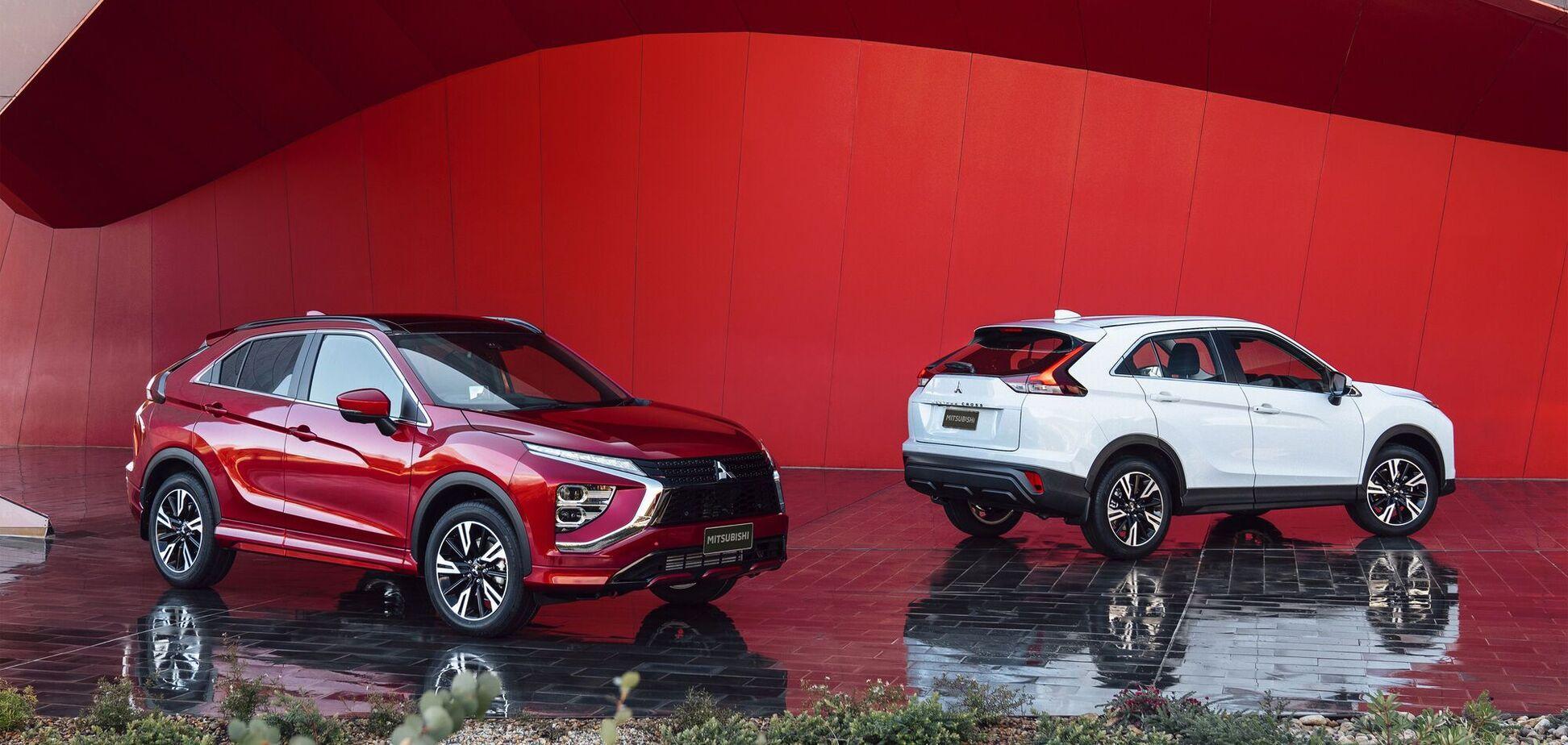 Mitsubishi обновила кроссовер Eclipse Cross