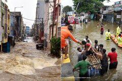 В результате наводнений в Индии погибли 60 человек