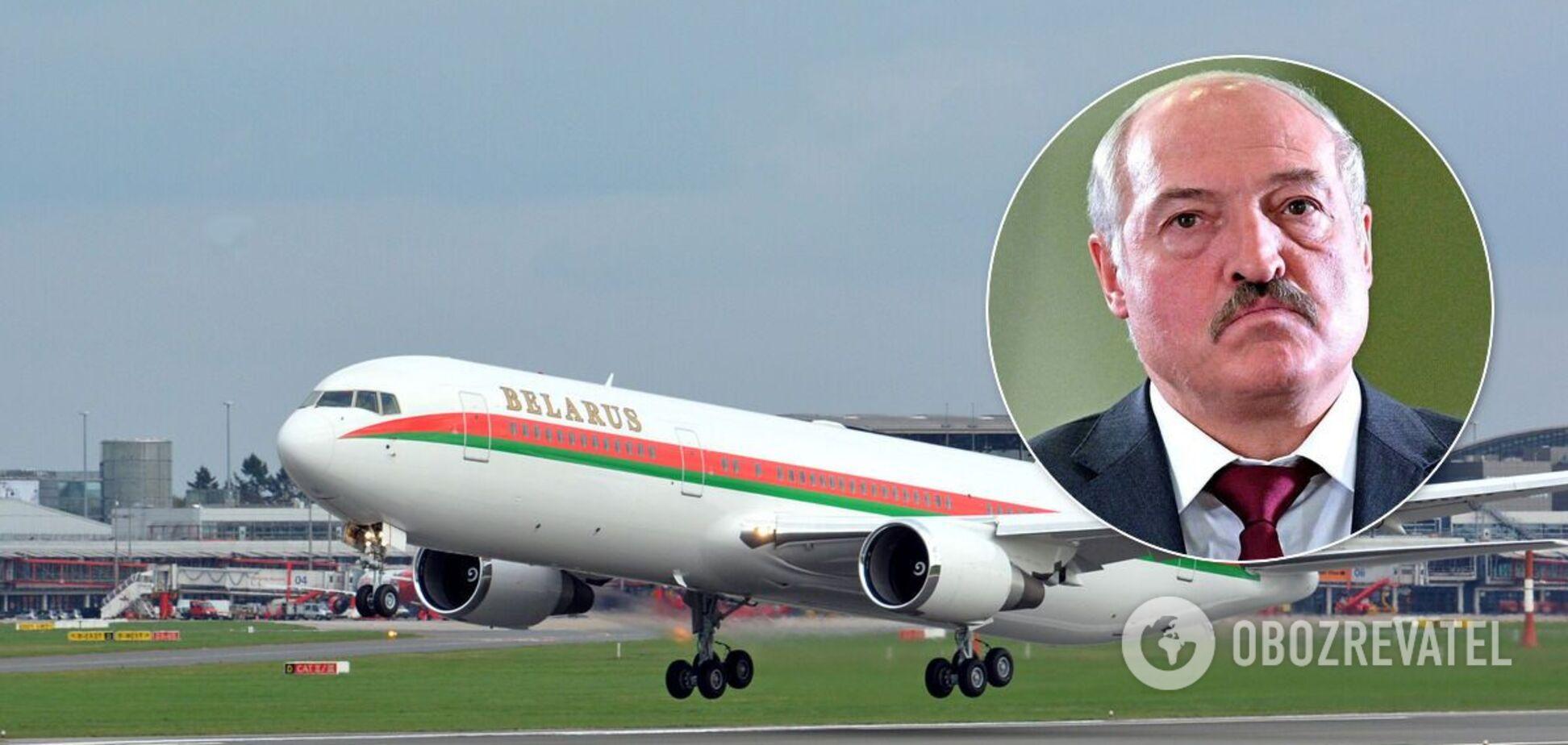 Літак Лукашенка